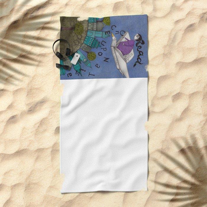 Read Beach Towel