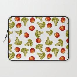 Broccoli and tomato Laptop Sleeve