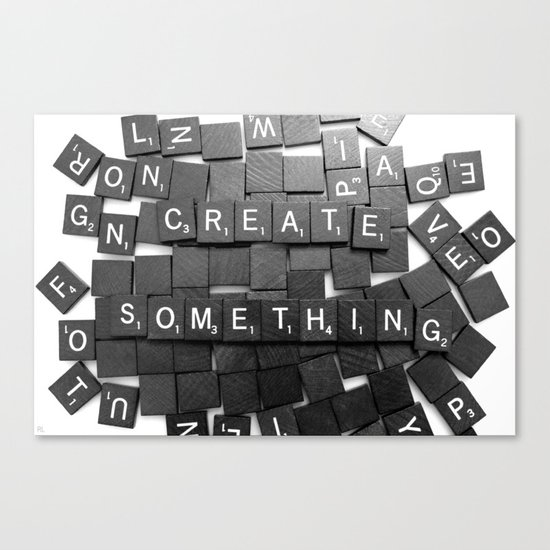 Anything Please Canvas Print