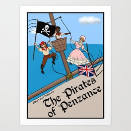 Pirates of Penzance Poster Art Print