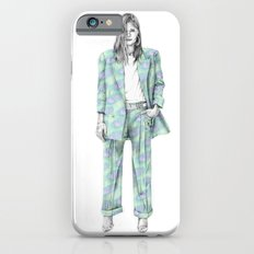 Balmain print suit iPhone 6s Slim Case