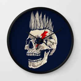 Punks Not Dead Wall Clock