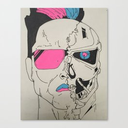 I Will Crush You  Canvas Print