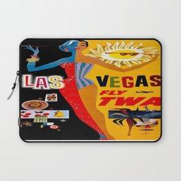 Vintage poster - Las Vegas Laptop Sleeve
