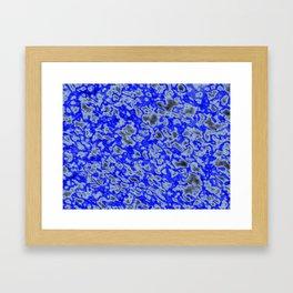 Bluberry Bubble Bop Framed Art Print