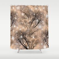 fairies Shower Curtains featuring Fairies  by MinaSparklina