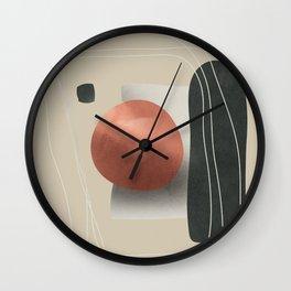 Abstract Art 17 Wall Clock