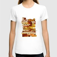 team fortress T-shirts featuring The fortress at sunset by Chicca Besso