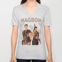 Nagron Goat Farm (Spartacus) Unisex V-Neck
