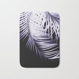 Palm Leaves Ultra Violet Vibes #3 #tropical #decor #art #society6 Bath Mat