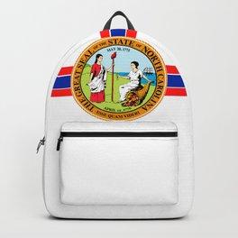 North Carolina seal Backpack