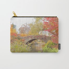 Fall in Central Park, NYC Carry-All Pouch
