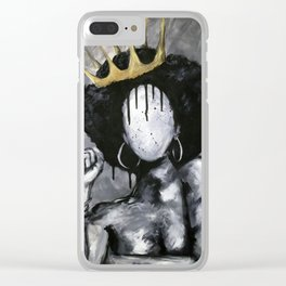 Naturally Queen Clear iPhone Case