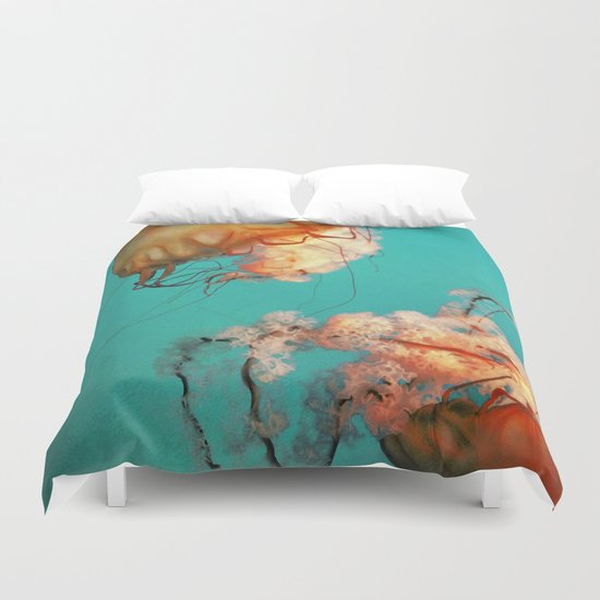 The Sea Ballet Duvet Cover