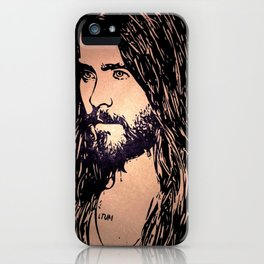 Vector Jared Leto 4 iPhone Case