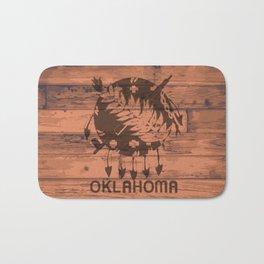 Oklahoma Flag Brand Bath Mat