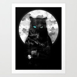night watch Art Print