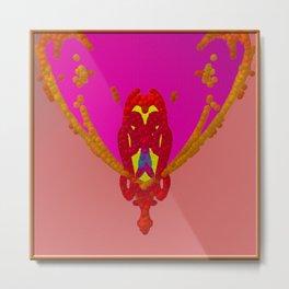 Jewelery-owl Metal Print