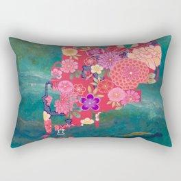 A NEWCOMER 01 Rectangular Pillow