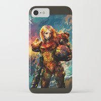 samus iPhone & iPod Cases featuring Samus  by ururuty