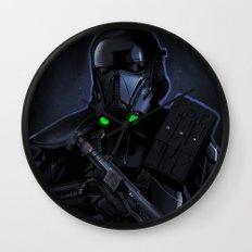 Deathtrooper Wall Clock