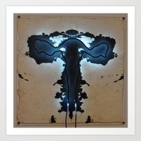 Rorschach No. 1  Art Print