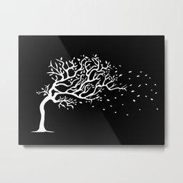 Wind tree Metal Print