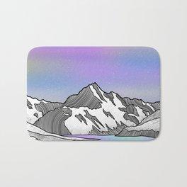 Aoraki Mount Cook Bath Mat