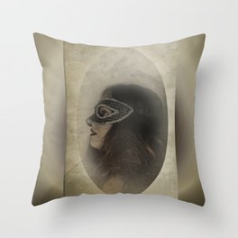 Mascarade Throw Pillow