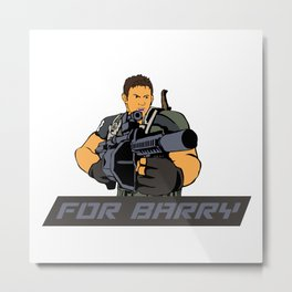 FOR BARRY Metal Print