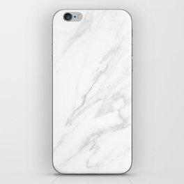 Classic White Marble iPhone Skin