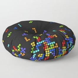 Tetris Time Floor Pillow
