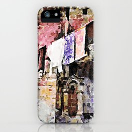 Sassi di Matera: laundry iPhone Case