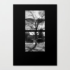 Take Off Your Sunglasses Canvas Print