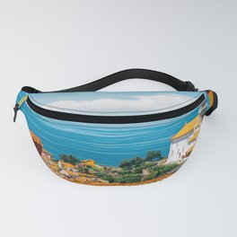 Piran old town and Adriatic sea in Slovenia Fanny Pack