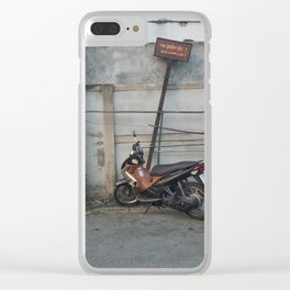 A Quick Stop Clear iPhone Case