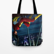 SpiderWoman Tote Bag