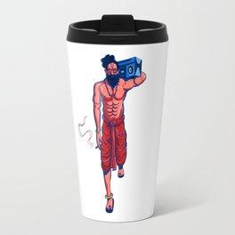Hipster Yogi Travel Mug