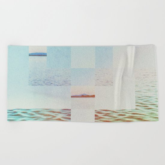 Fractions A51 Beach Towel