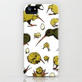Kiwi Birds iPhone Case