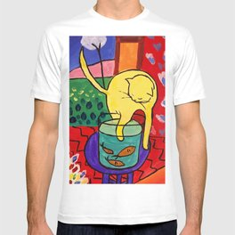 Cat with Red Fish- Henri Matisse T-shirt