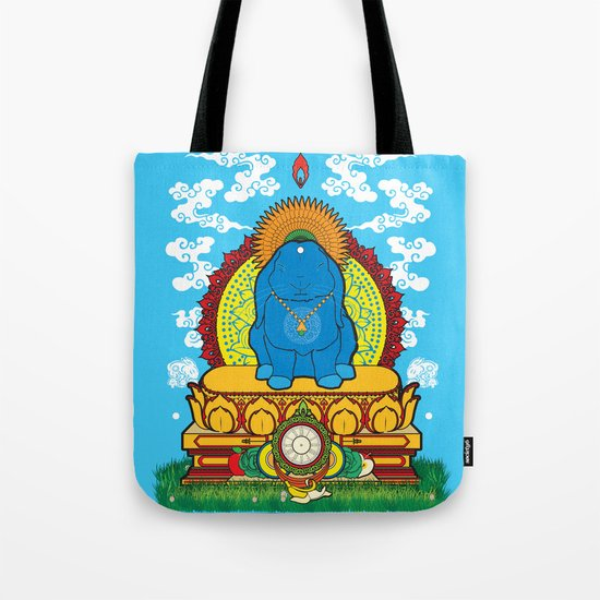 BUDDHA BUN Tote Bag