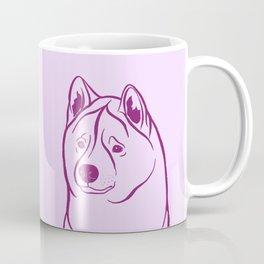 American Akita (Lilac and Plum) Coffee Mug
