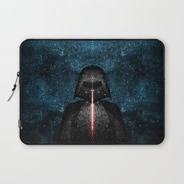 Darth Vader with Lightsaber in Galaxy Laptop Sleeve