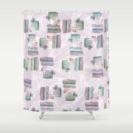 Evoke's Brushstokes Shower Curtain