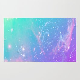 galaxy pastel Rug