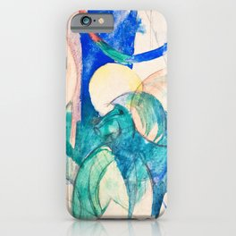 Franz Marc - Mandrill - Digital Remastered Edition iPhone Case