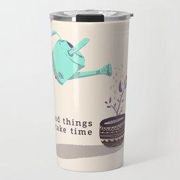 good things Travel Mug