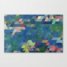 Wtr Llies Canvas Print