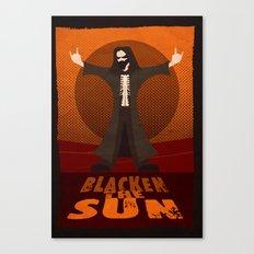 Blacken the Sun Canvas Print